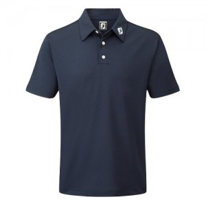 Footjoy Pique Polo Athletic Fit Navy
