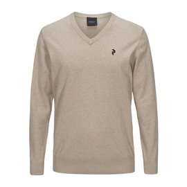 Peak Performance Classic V-Neck Beige