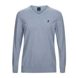 Peak Performance Classic V-Neck Lichtblauw