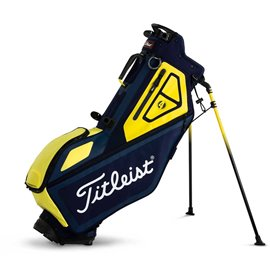 Titleist Players 4 Stand Bag Navy/Geel
