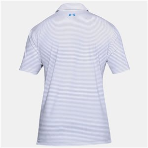 Under Armour Playoff Polo Wit Gestreept