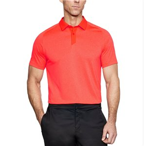Under Armour Threadborne Polo Oranje