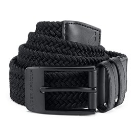 Under Armour Riem Braided 2.0 Zwart