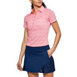 Under Armour Zinger SS Novelty Polo Roze