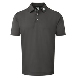Footjoy Pique Polo Athletic Fit Donkergrijs