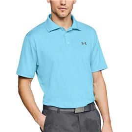 Under Armour Performance Polo 2.0 Lichtblauw