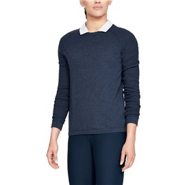 Under Armour Sweater Threadborne Crew Navy