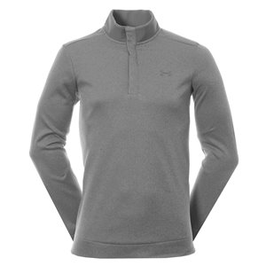 Under Armour Storm SweaterFleece Heather Snap Grijs