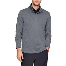 Under Armour Storm SweaterFleece Heather Snap Grijs