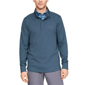 Under Armour SweaterFleece Snap Blauw
