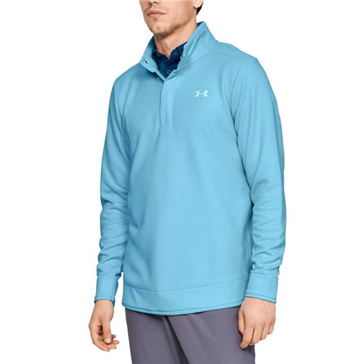 Under Armour SweaterFleece Snap Lichtblauw