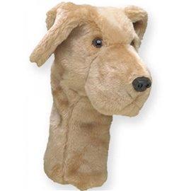 Daphne's Driver Headcover Yellow Labrador
