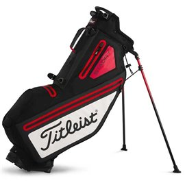 Titleist Players 4 StaDry Stand Bag Zwart/Wit/Rood