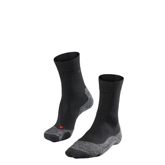 FALKE TK2 Sokken Zwart