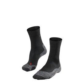 FALKE TK2 Dames Sokken Zwart