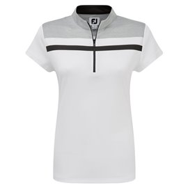 FootJoy Interlock Polo Wit/Grijs