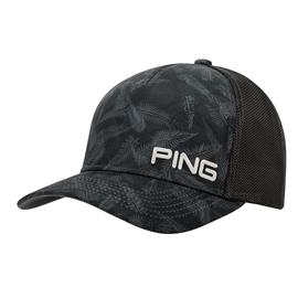 Ping Pattern Mesh 2019 Grijsblauw