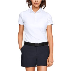 Under Armour Zinger SS Polo Wit