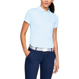 Under Armour Zinger SS Polo Lichtblauw
