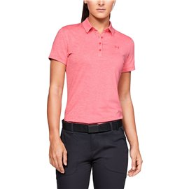 Under Armour Zinger SS Polo Roze