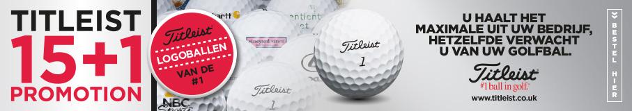 Titleist golfballen bedrukken