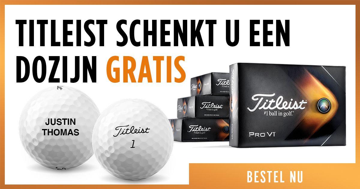 Titleist golfballen met gratis personalisatie